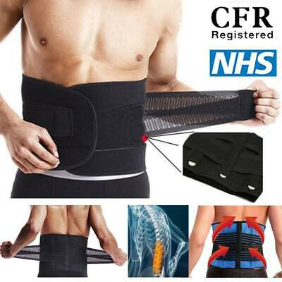Neoprene Lower Back Lumbar Support Belt Brace Waist Posture Pain Relief Pull B01