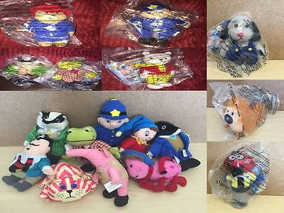 Mcdonalds Soft Toy TV & Film Characters New & Sealed in Bag