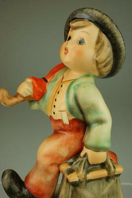 M.I. Hummel Goebel Merry Wanderer #11/2/0 TMK3 Figurine with Lots of Charm
