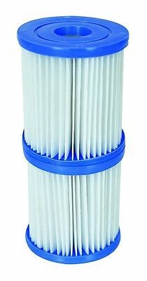 3.1x3.5-inch Size I Filter Cartridge Swimming Pool Hot Tub Spa Twin Pack jilong
