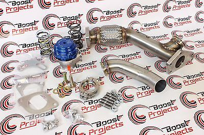 TiAL GRIMMSPEED MV-S 38 002952 WASTEGATE UP PIPE DUMP TUBE BRACKET 059001 010019