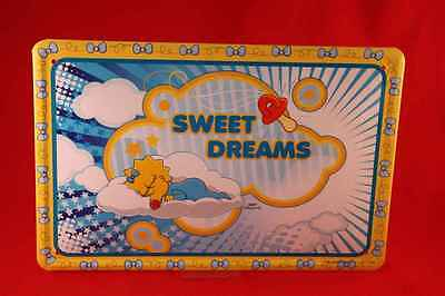 The Simpsons Blechschild MAGGIE SWEET DREAMS 20x30 cm Simpson Bart Homer 34/ 35