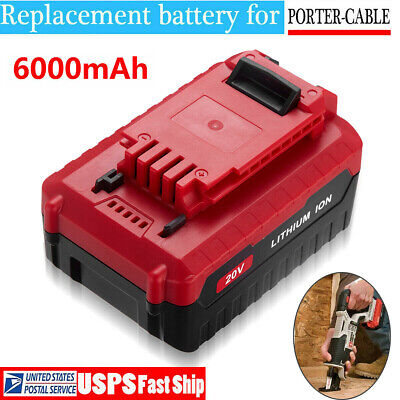 5.0Ah Lithium-Ion 20 Volt Battery For PORTER CABLE 20V Max PCC680L PCC685L Tools