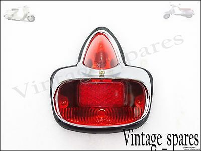New Vespa 125 Vnb 150 Vbb Gs Vs5 Gs 160 Rear Brake Stop Tail Light Assy Special
