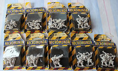 Necromunda Scavvies Gang Gangers Scaly Games Workshop Warhammer 40k Blisters New