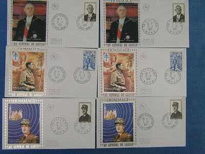 55 FDC ENVELOPPES PREMIER JOUR ANNEE 1971 COMPLETE FIRST DAY COVER (Lot 2)