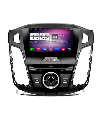 AUTORADIO Navigatore GPS per Ford Focus Android 4.4 DVD Bluetooth wifi