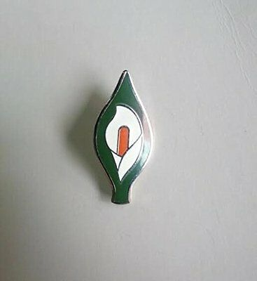 1916 Easter Lily Enamel (Pin Badge)1916 Easter Rising (Lile na Cásca)Remembrance