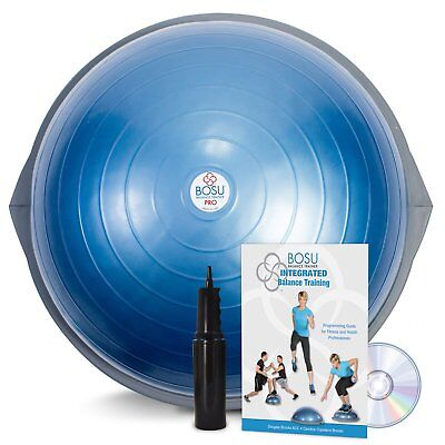 Bosu Pro Balance Trainer With Dvd Manual And Pump