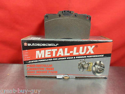 Autospecialty Metal-Lux  Brake Pads 24 531 01 Mitsubishi 3000Gt Dodge Stealth