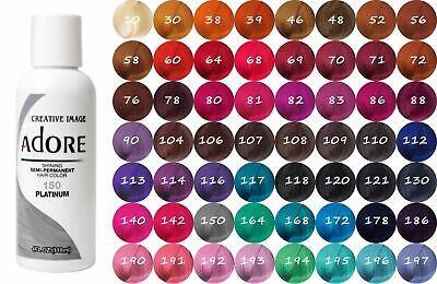 [Adore] Creative Image Shining Semi-Permanent Hair Color Rinse 4Oz All Colors!