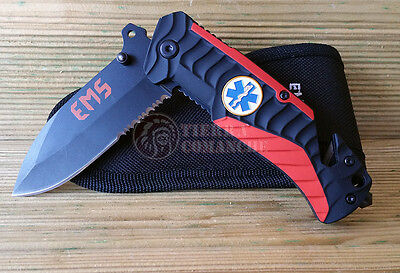Navaja Tactica Rescate EMS Knife Messer Coltello Couteau