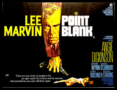 Point Blank FRIDGE MAGNET 6x8 Lee Marvin Magnetic Movie Poster CANVAS Print