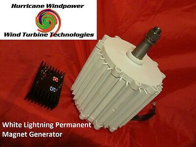 12 volt Permanent Magnet Alternator Wind Generator Hurricane 600 watts