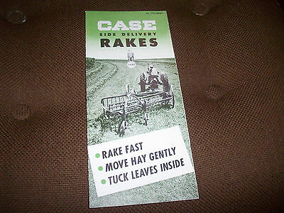J.I. Case 170 Series Side Delivery Rakes Mower Brochure Wayland Missouri