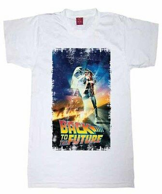 Back To The Future 'Classic Film Poster' Design T Shirt New Official *SALE £7.99
