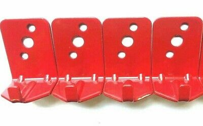 LOT OF 4-UNIVERSAL WALL MOUNT 5 & 10 lb. SIZE FIRE EXTINGUISHER BRACKET NEW