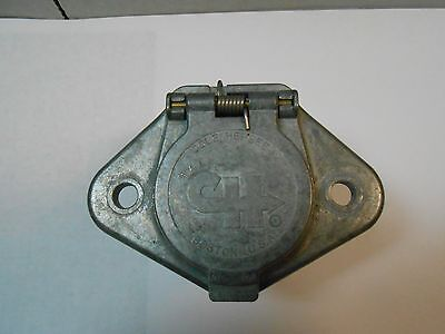 12063-01 Cole-Hersee 7Pin  Connector Used On Large Trailers  New Old Stock