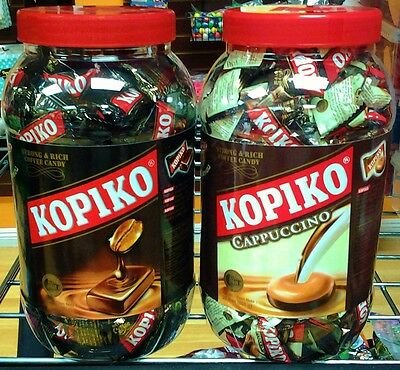 Kopiko Coffee & Cappuccino Candy 200 pcs each Flavor