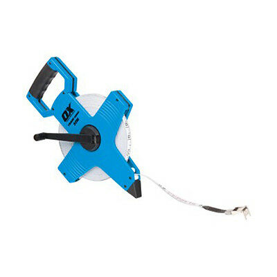 Ox Tools Trade Open Reel Tape Measure - Size 30M 50M 100M - 13Mm Wide Blade