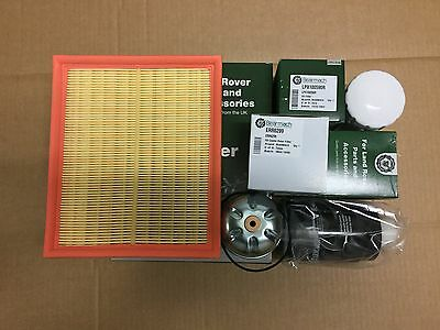 Land Rover Discovery/defender 2.5Td5 Service Kit Oil,air,fuel,rotor Filter 1998-