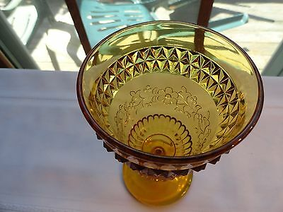 Beautiful Heavy Gold Water Or Wine Goblet By Lg Wright~Wildflowers