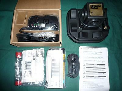 3M Breathe Easy Turbo PAPR powered Air Purifying Respirator NiMH with Charger