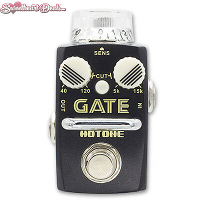 Brand NEW Hotone GATE Noise Reduction Pedal Guitar Stompbox Clean Filter FX