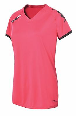 Kappa Cascia Short Sleeve Jersey - Large Adult - Pink