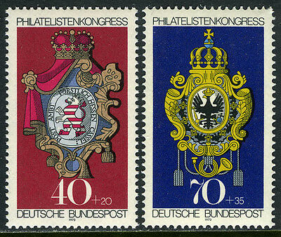 Germany B500-B501, MNH. Posthouse Signs. Hesse-Kassel, Prussia, 1973