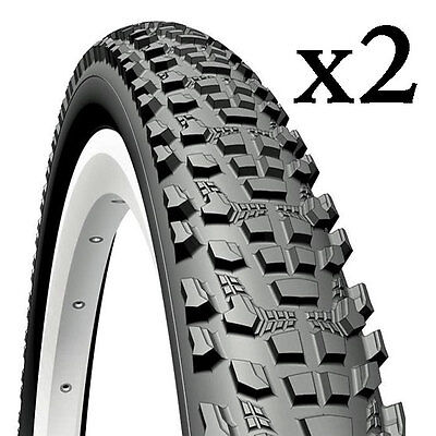Pair of Mountain Bike tyres 26 or 29 inch