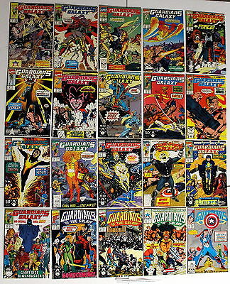 GUARDIANS OF THE GALAXY 1990-1995 1st Rancor future Ghost Rider Punisher 1-20 VF