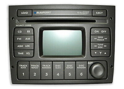 Genuine Blaupunkt Holden Commodore VY VZ 6 Stack Cd Radio W/Aerial Control Tempe