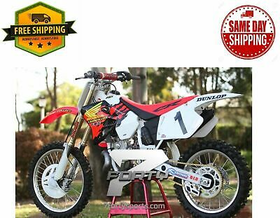 New Ufo Plastic Kit Honda Cr 125 Cr125 95-97 Cr 250 Cr250 95-96 Red White Black