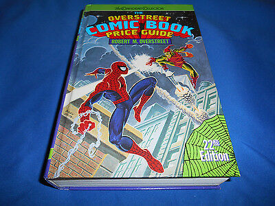 OVERSTREET PRICE GUIDE #22 1992 Hardcover HC 8.0 VF Spider-Man Cover Hard Cover