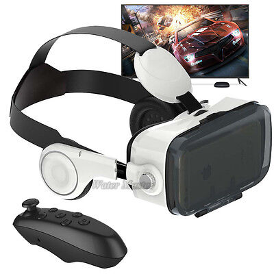 [BoBo VR Z4] 3D Glasses Virtual Reality Headset Earphone with Bluetooth Control