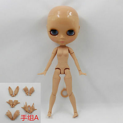 4 Pairs Factory Joint Movable Body/'s Hand Accessories For Neo Blythe Doll Dark