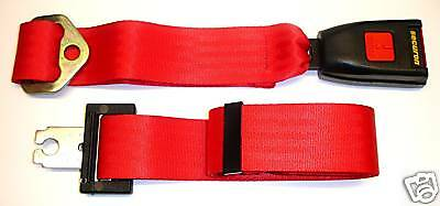 NEW Securon Seat Belt 210 Lap Belt x1 Red