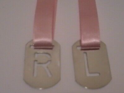 X-Ray Anatomical Tablet Markers R & L  With Pink Ribbon