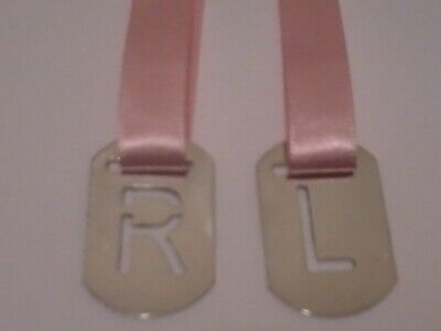 X-Ray Markers R&l Anatomical Markers With Pink Ribbon