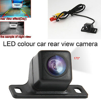 170° Wide Angle Car Rear View Reverse Backup Camera Waterproof For Car Monitor