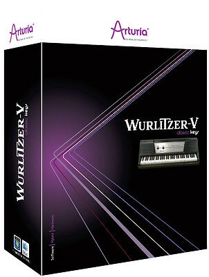 NEW Arturia Wurlitzer V2 Electric Piano Virtual Instrument Fruity Loops Plug In