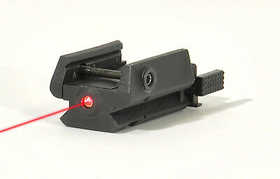 """Micro Laser Sight Swiss Arms Pour Rail Picatinny Airsoft Pistolet """"neuf"""" 263877"""