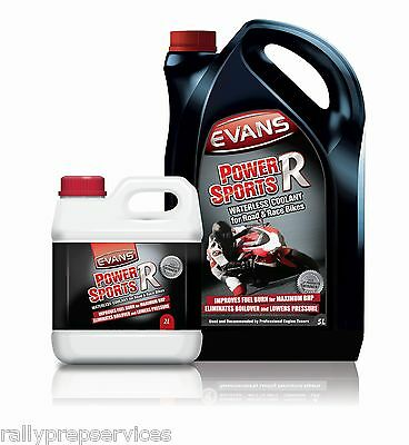 Evans Waterless Coolant Powersports R  - 7 Litres Kit Motor Cycles / Motor Bikes