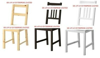 Ikea Ivar & Stefan,Dining Home Office Multi Use Chairs,Solid Wood,2 Colours