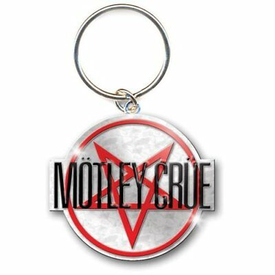Motley Crue Shout At The Pentagram diable Argent Porte-clés Métal officiel