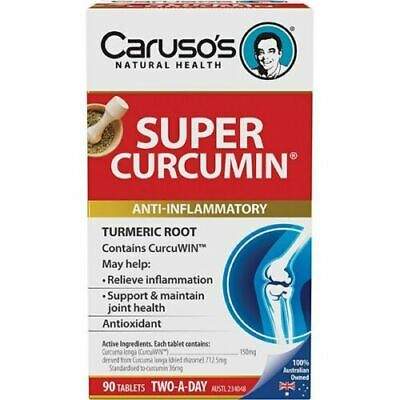 Caruso's Natural Health Super Curcumin Arthritis Relief Caruso's 90 Tablets