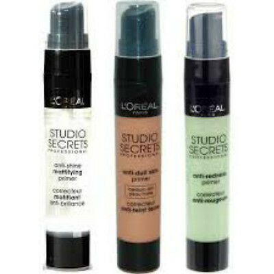 Studio Secrets L'Oreal Anti Dull Skin Primer - CHOOSE YOUR SHADE!