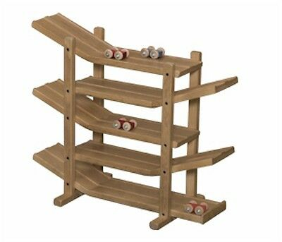 Wooden Car Roller Double Racetrack Amish-made