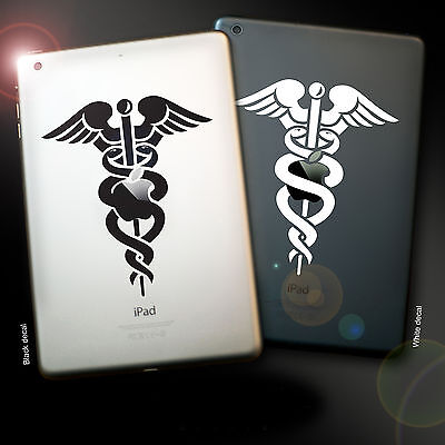 iPad Medical Decal Sticker, All sizes, Two colours, Doctor, Paramedic, Surgeon.